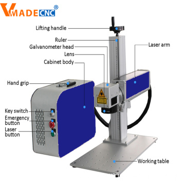 PCB Fiber Laser Marking Machine