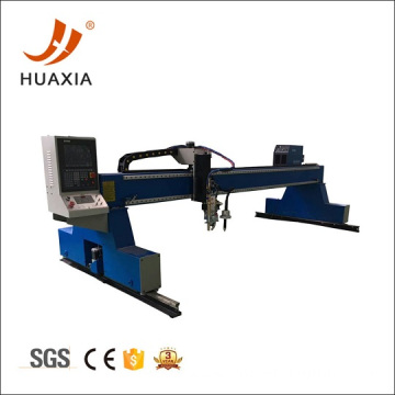 Gantry type thick steel oxygen metal cutter