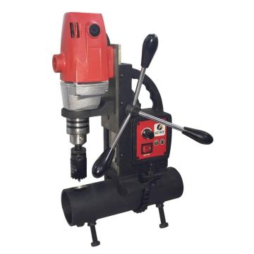 Speed control pipe drilling machine