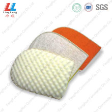 Massaging loofah effective handle bath sponge