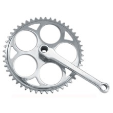 Factory source for Bike Crank Alloy Mountain Bike Chainwheel and Crank export to Spain Factory