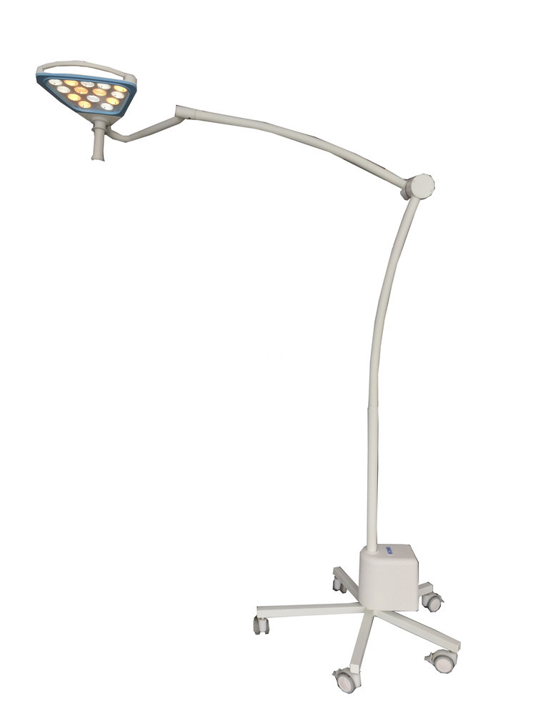 portable led examination lamp with castors