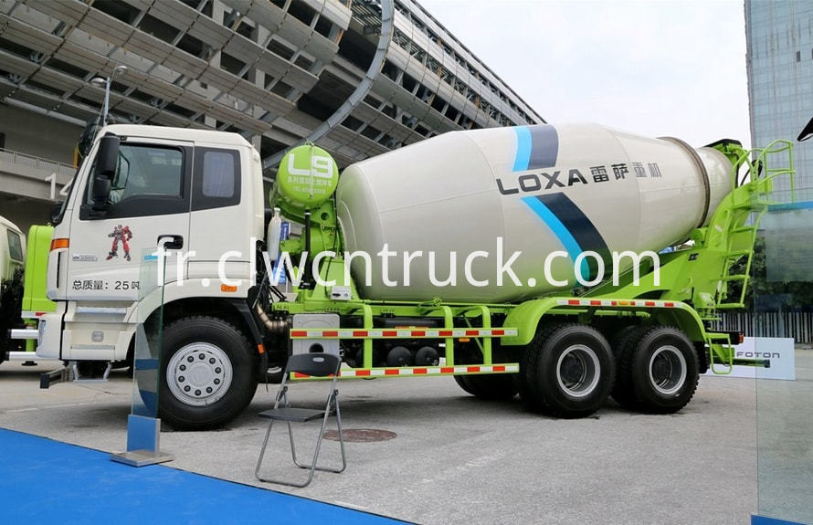 new concrete mixer truck 1