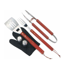 Chinese Professional for Outdoor BBQ Set Apron 7pcs BBQ TOOL set with apron export to France Manufacturer