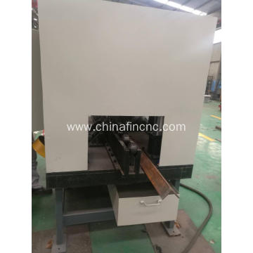 Angle iron root milling machine