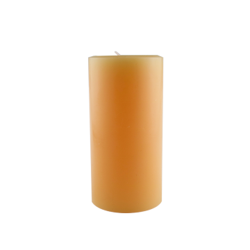 Color flame pillar shaped candles