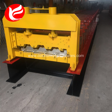 Floor deck cold roll forming machine turkey