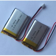 10 Years manufacturer for Lipo Rechargeable Battery 3.7v 1100mAh Lipo Battery For Wireless Speaker (LP3X4T7) supply to Sudan Exporter
