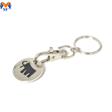 Custom shape and design keychain