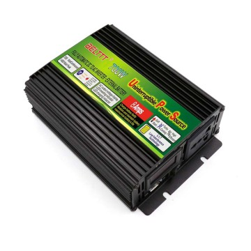 Black-Appearance practical portable UPS inverter 700 Watt