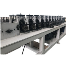 Round shouldered trapezoidal combined  floor decking machine