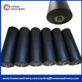 Non-stick teflon conveyor rollers for fruit transport