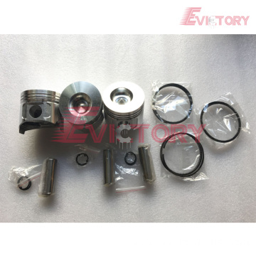 excavator 3T82 engine gasket bearing piston ring liner