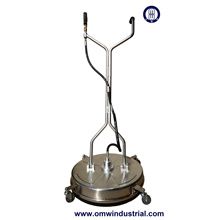 "24"" Stainless Steel Surface Cleaner with Wheels"