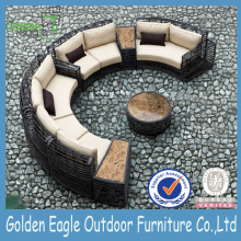 Ordinary Discount for Modular Seating Half Round Sofa Rattan Outdoor Sofa export to Japan Factories
