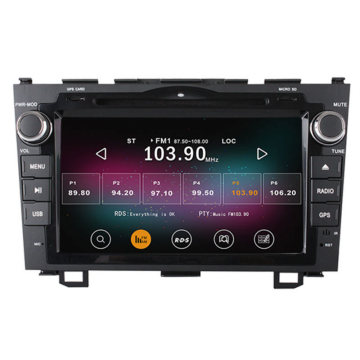 Quad core android carro dvd player honda