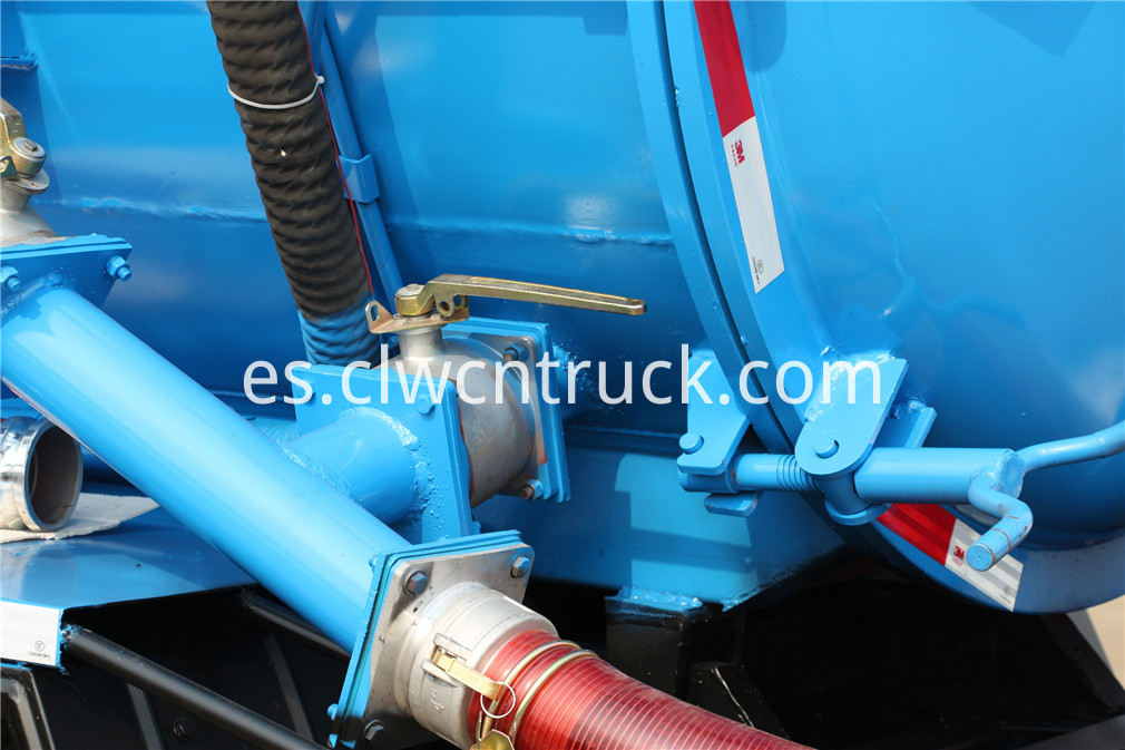 jac sewer cleaning truck 5