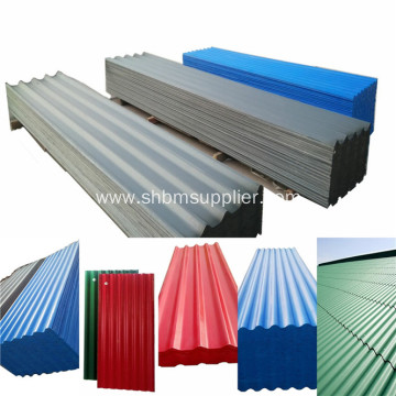 High Quality PET Laminated MgO Corrugated Roofing Sheets