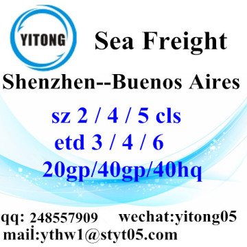 Shenzhen Sea Freight Logistics Company to Buenos Aires