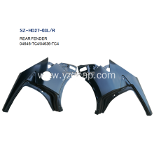 China for REAR Fenders For HONDA,Honda Bobber Rear Fender,Honda Shadow Fenders Manufacturers and Suppliers in China Steel Body Autoparts Honda 2015- X-RV Rear Fender supply to Northern Mariana Islands Exporter