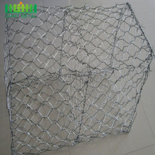 Galvanized Woven Hexagonal Wire Netting Gabion Box