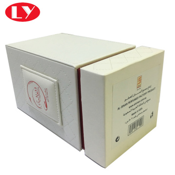 PU leather perfume box for spray bottle