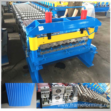 High speed roof corrugated roll forming machine