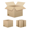 Corrugated board shoe packaging box mailing box
