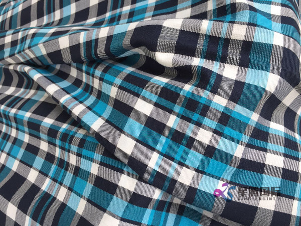 Cheap Price Polyester Yarn Dyed Shirting Fabric