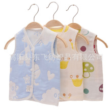 Gauze Baby Vest Cotton Toddler Vest Kids Vest