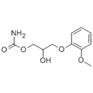 1,2-Propanediol,3-(2-methoxyphenoxy)-, 1-carbamate CAS 532-03-6