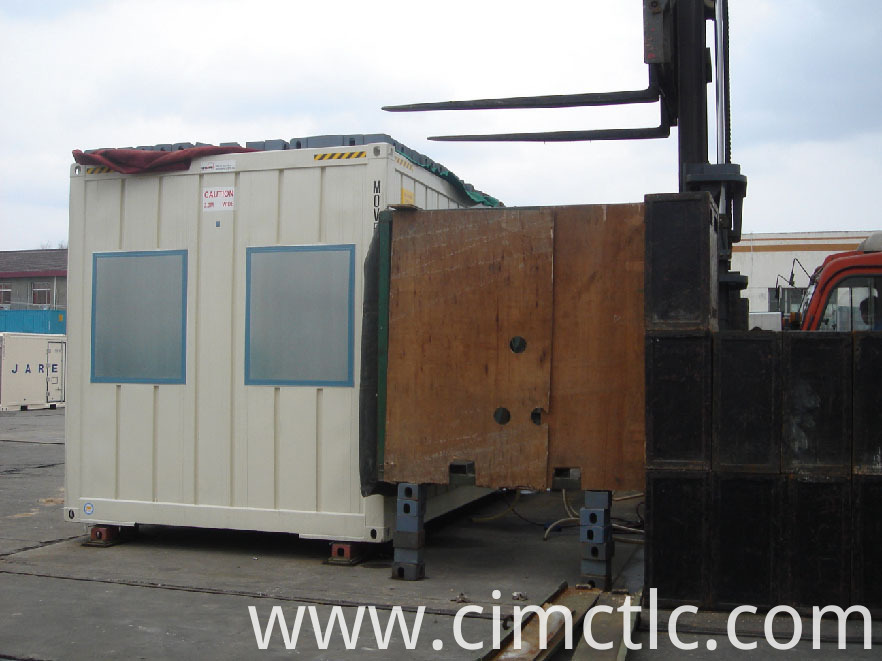 wind loading test for Modular Administration Office Flatpack