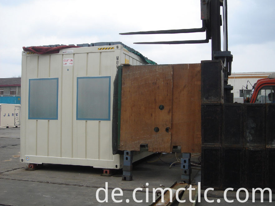 wind loading test for Modular Office Building Container Type