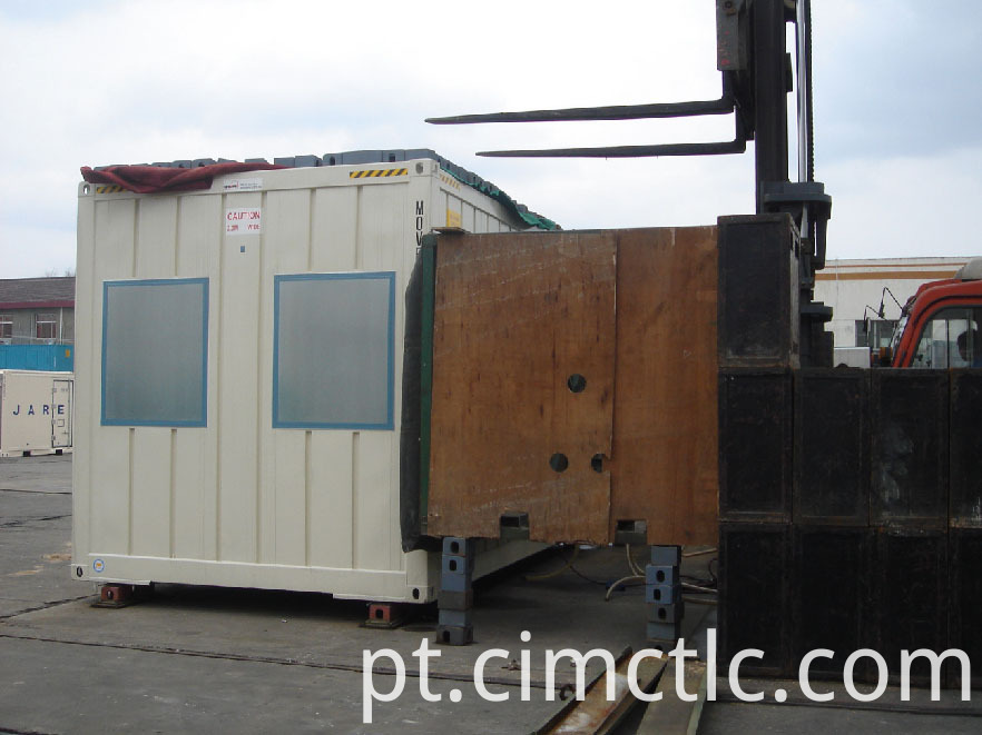 wind loading test for Modular Gym Room Container Type