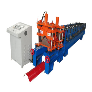 Color Sheet Building Roof Ridge Cap Forming Machine