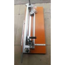 Manual V type cardboard grooving machine