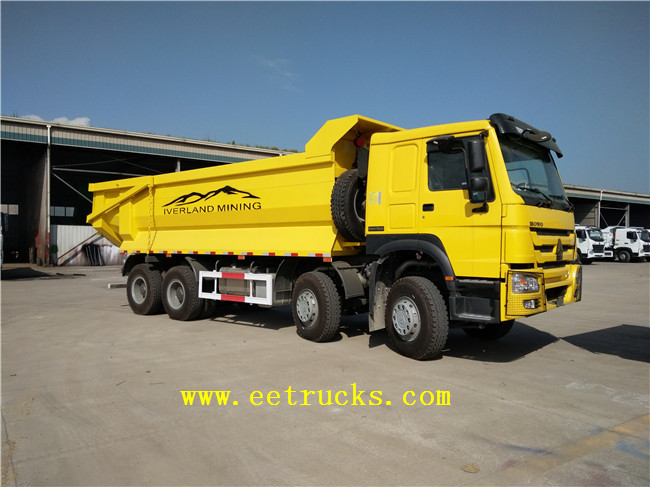 HOWO Sand Tipper Trucks