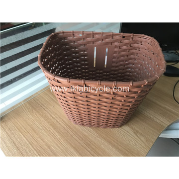 Brown Plastic Bicycle Baskets