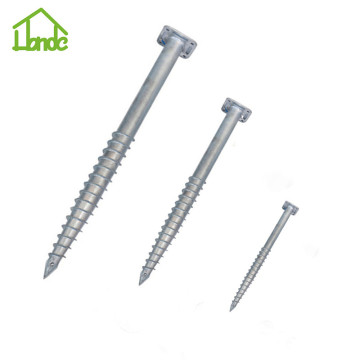 Good quality hot dip galvanized ground screw