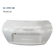 factory low price Used for China Trunk Lids And Tailgates For HYUNDAI,HYUNDAI Pilot Tailgate Panel Removal,HYUNDAI Accord Trunk Lid Replacement Manufacturer and Supplier Steel Body Autoparts HYUNDAI 2006 ACCENT TRUNK LID supply to Nauru Exporter
