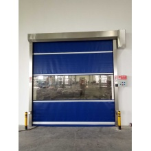 Electric Plastic Fabric Rolling Hgih Speed Door
