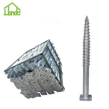 Hot Sale Steel Ground Anchor Screws