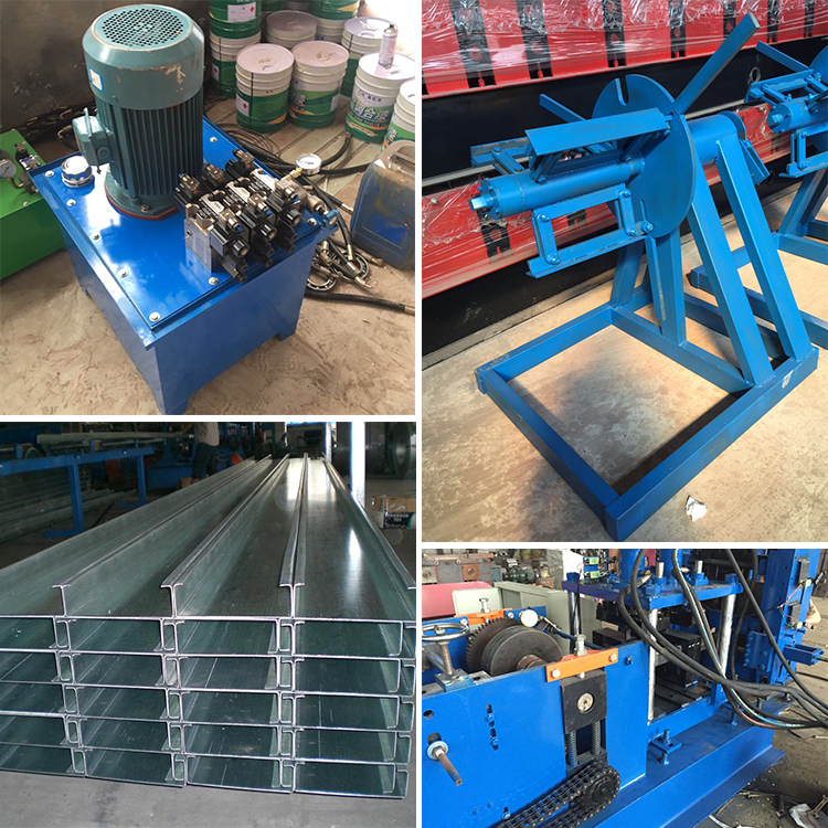 Rolling Steel C Channel Machine