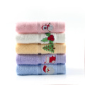 beautiful kid's christmas embroidery towel