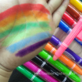 12 colors Water based face paint crayon
