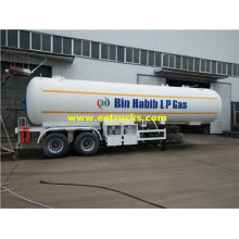 10000 Gallons 18ton Propane Gas Transportation Trailers