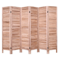 Chinese Wooden Screen Room Divider Solid Wood Folding Indoor Decoration Wooden Screen Movable divider For Room