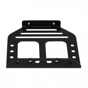 Custom cnc machining black anodize aluminum sheet parts
