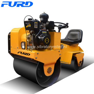 700kg Self-propelled Vibratory Small Road Roller Compactor
