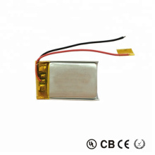 452030 3.7V 230mAh Rechargeable  lipo battery